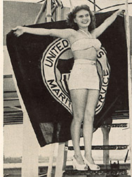 "Miss Eloys Langhoff, New Orleans ""Miss Maritime Day"" 1946"