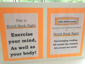 World Book Night, Chapel Hill, NC