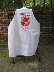 Holy Smoke apron