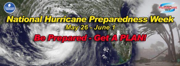 National Hurricane Preparedness Banner 2013