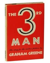 first edition of The Third Man, by Graham Greene.