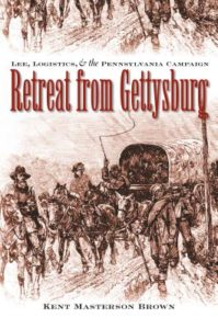 Cover of Retreat from Gettysburg, by Kent Masterson Brown