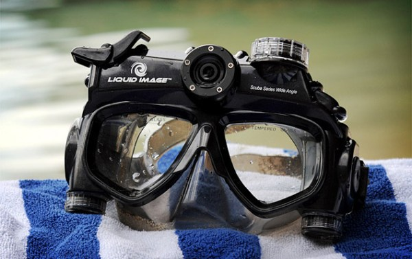 Liquid Image Wide Angle HD Dive Mask   Uncrate