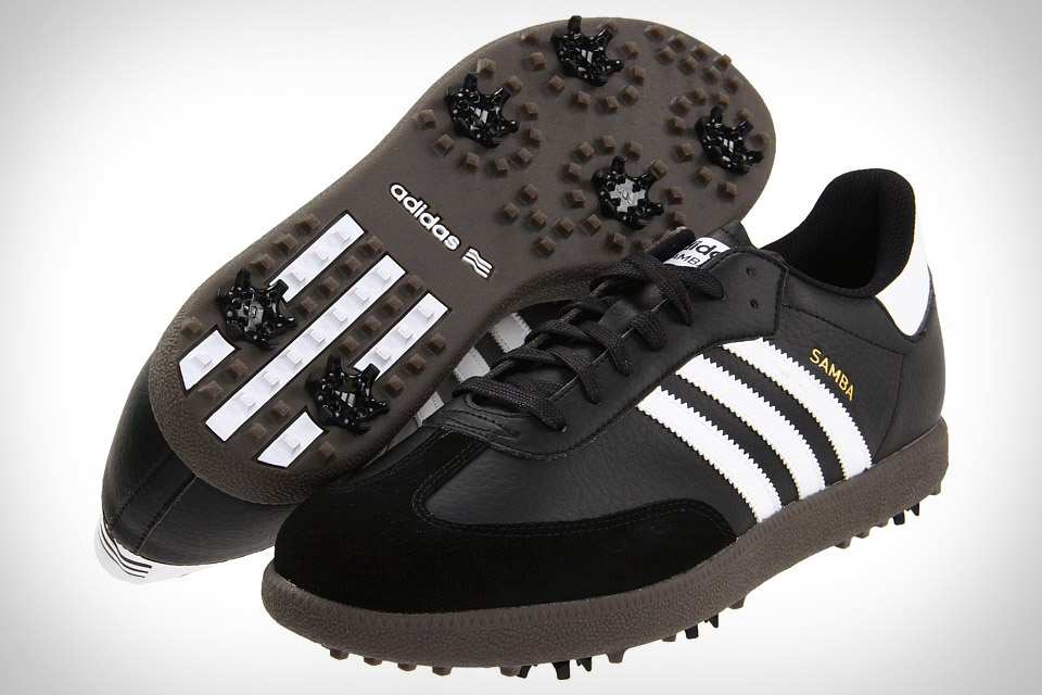 Look like a hipster on the golf course with Adidas Samba golf ...