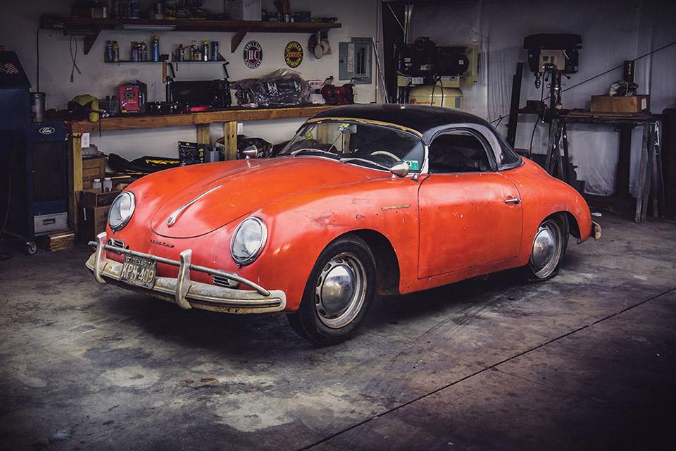 1957 Porsche 356 A 1600 Speedster Alk3r