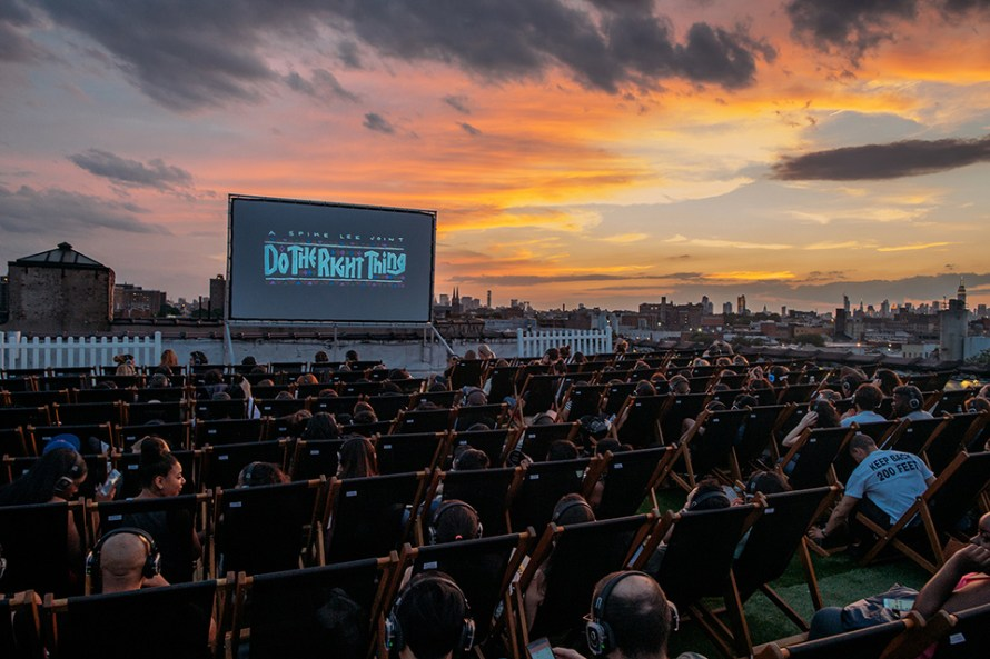Image result for Rooftop Cinema Club