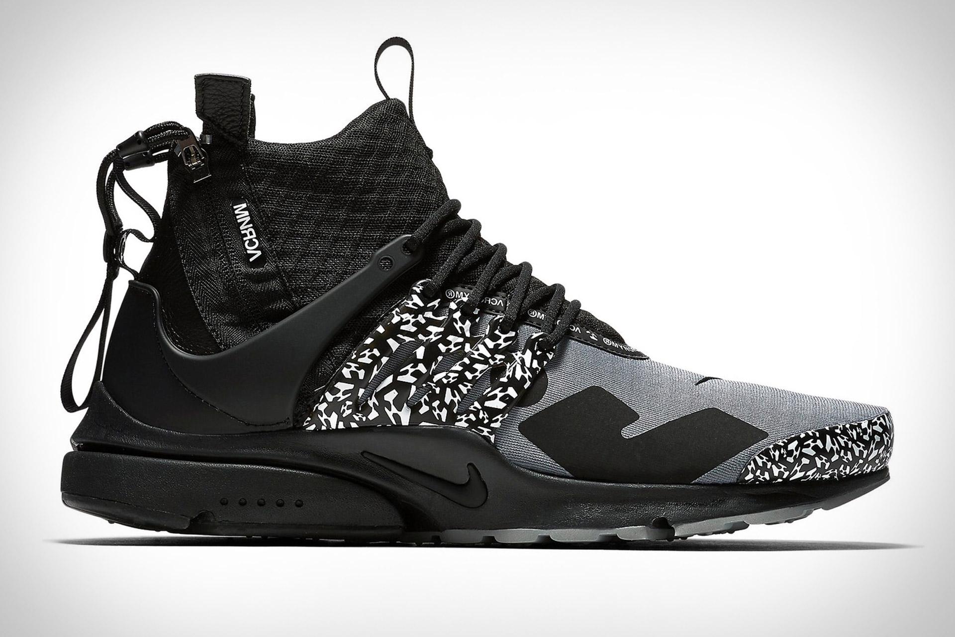 Nike x Acronym Air Presto Mid Utility Sneaker | Uncrate