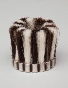 Ring, 2002, silver and goat hair, Dallas Museum of Art, gift of Deedie Rose