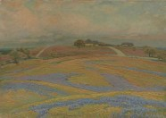 Edward G. Eisenlohr, Spring Fields at Grand Prairie, n.d., oil on canvas, Dallas Museum of Art, gift of Mr. and Mrs. Wilson McClure 1960.77