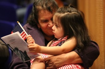 Photographs of the May 2016 DMA Naturalization ceremony. Images taken on Monday, May 23, 2016.