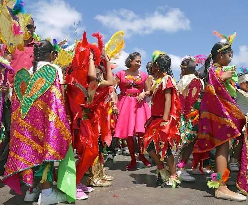 PM at Penal kiddies carnival