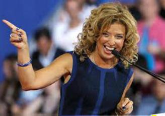 Debbie Wasserman Schultz's hair great smoothed curls Uncurly.com