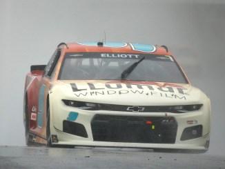 Chase Elliott Wins Rain-Shortened Race at COTA