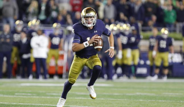 Ian Book – Notre Dame Fighting Irish – Official Athletics Website