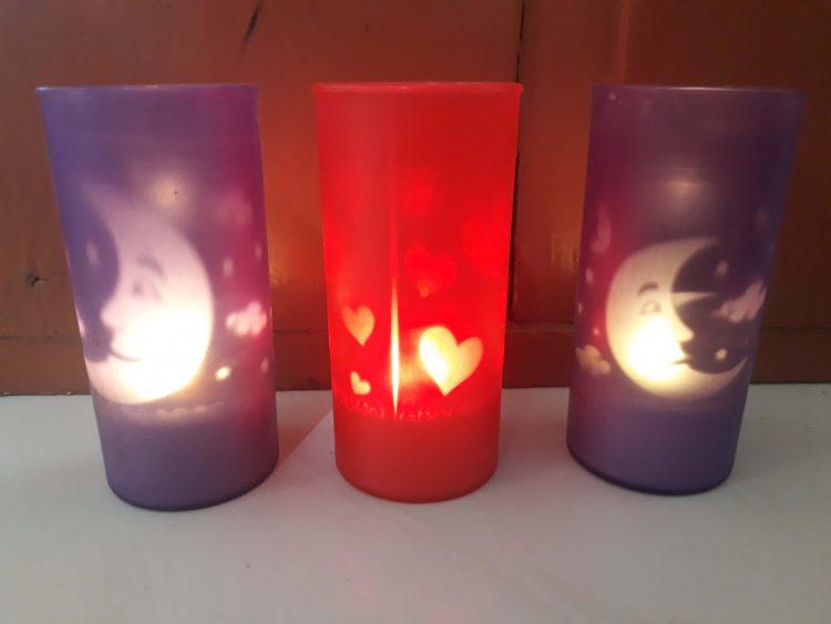 kado nikah lilin elektrik