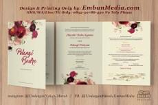 Undangan Murah Bunga Cantik 085230788450 Embun Media (5)
