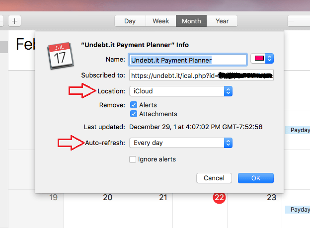 how to create a new calendar in icloud