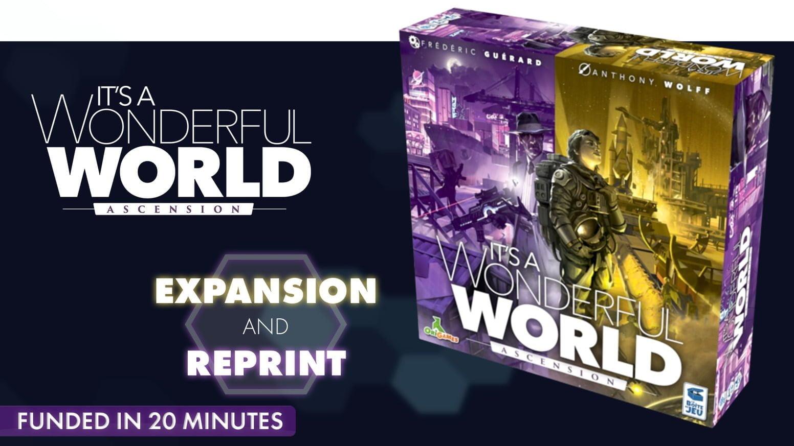 [Kickstarter]: It's a Wonderfull World: Ascension