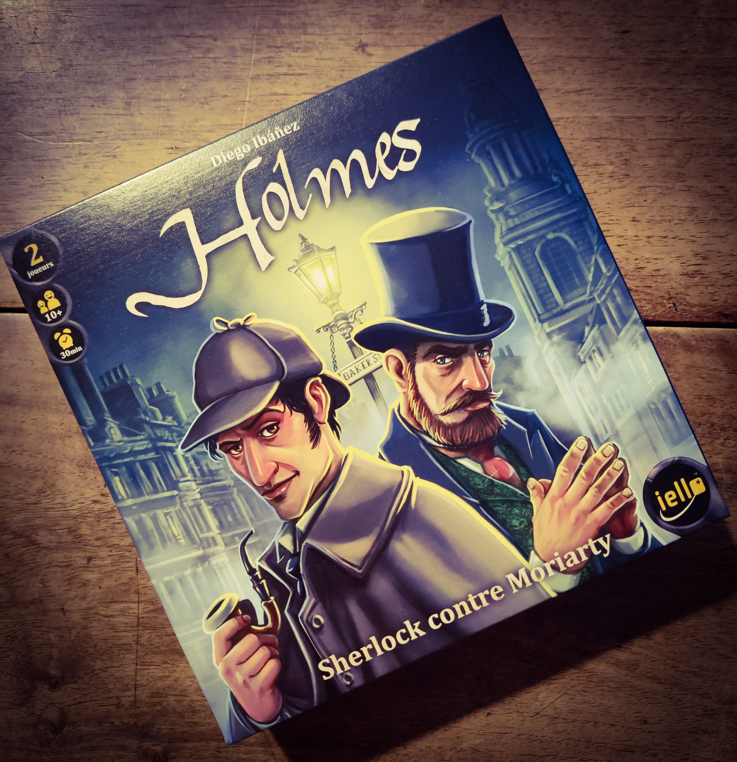 [Test] Holmes, Sherlock contre Moriarty