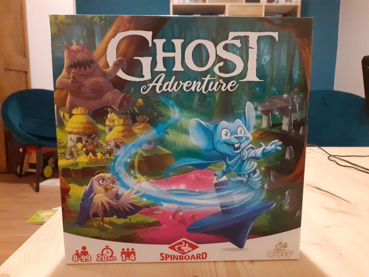 Ghost Adventure, un jeu de toupie