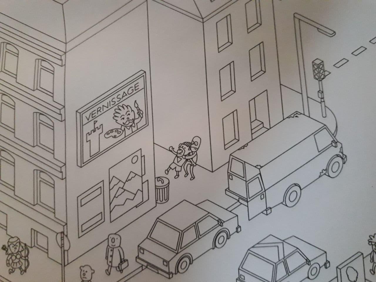 MicroMacro : Crime City un jeu d'enquête sur des crimes et des vols