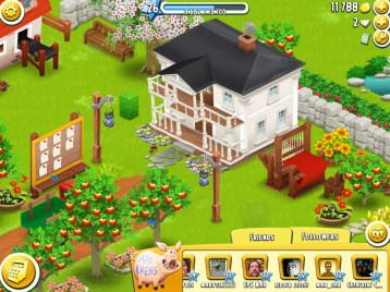 """""""Friends & Followers' Bar — HayDay Screen Capture courtesy of AainaA, of undecimus"""""""