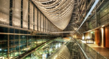 Modern Architecture, Tokyo; Image Courtesy and Copyright Trey Ratcliff