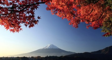 Glorious Mount Fuji in Autumn