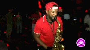 HeNYoSax playing live at Funk U Fridays Dance and Skate Party at MIST Harlem