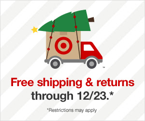 Free Shipping & Returns Though 12-23