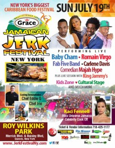 Grace Jamacian Jerk Festival