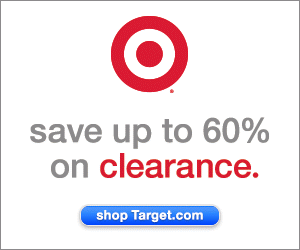 Save up to 60% on clearance at Target.com