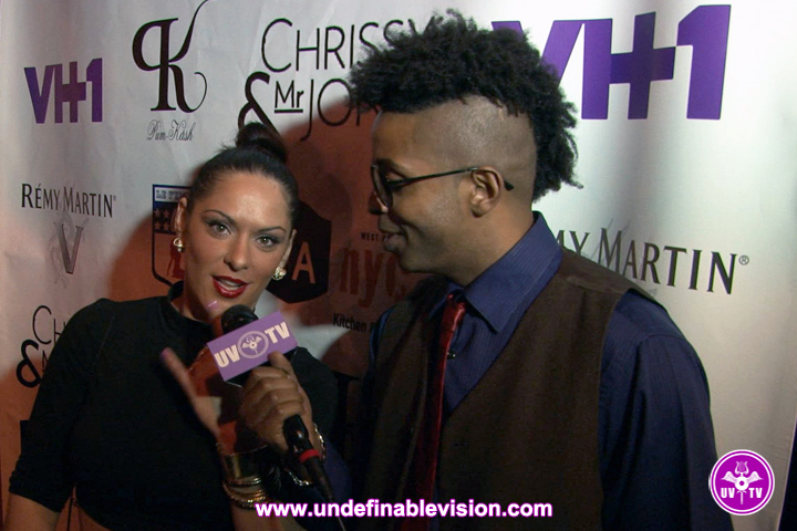 Flo of Bad Girls Club & Tabou TMF at Vh1 Premiere