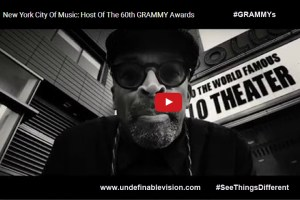 Watch New York Stories Spike Lee Film announcing The 60th Annual Grammy Awards in New York City