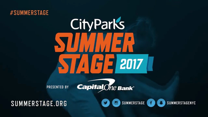City Parks Foundation Summer Stage 2017