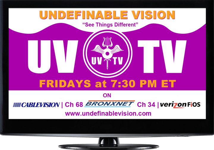 Watch Undefinable Vision TV Fridays at 7:30 PM ET