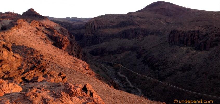 Morning hike in Gran Canaria – avoiding the summer heat
