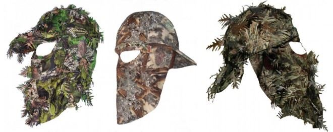 hunting facemask types