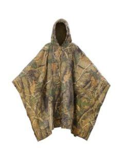 JTENG Rain Poncho Waterproof Ripstop Hooded