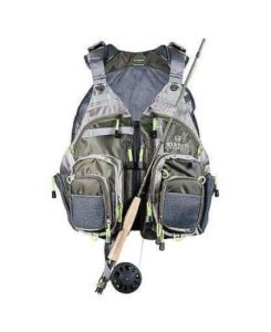 Elkton Outdoors Lightweight Universal Fit Fly Fishing Vest