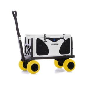 Cooler Cart Ice Chest Box Carrier Wagon