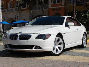 3600 BMW 645CI WHITE DR ANGLEN