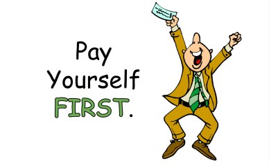 Image result for Pay yourself first