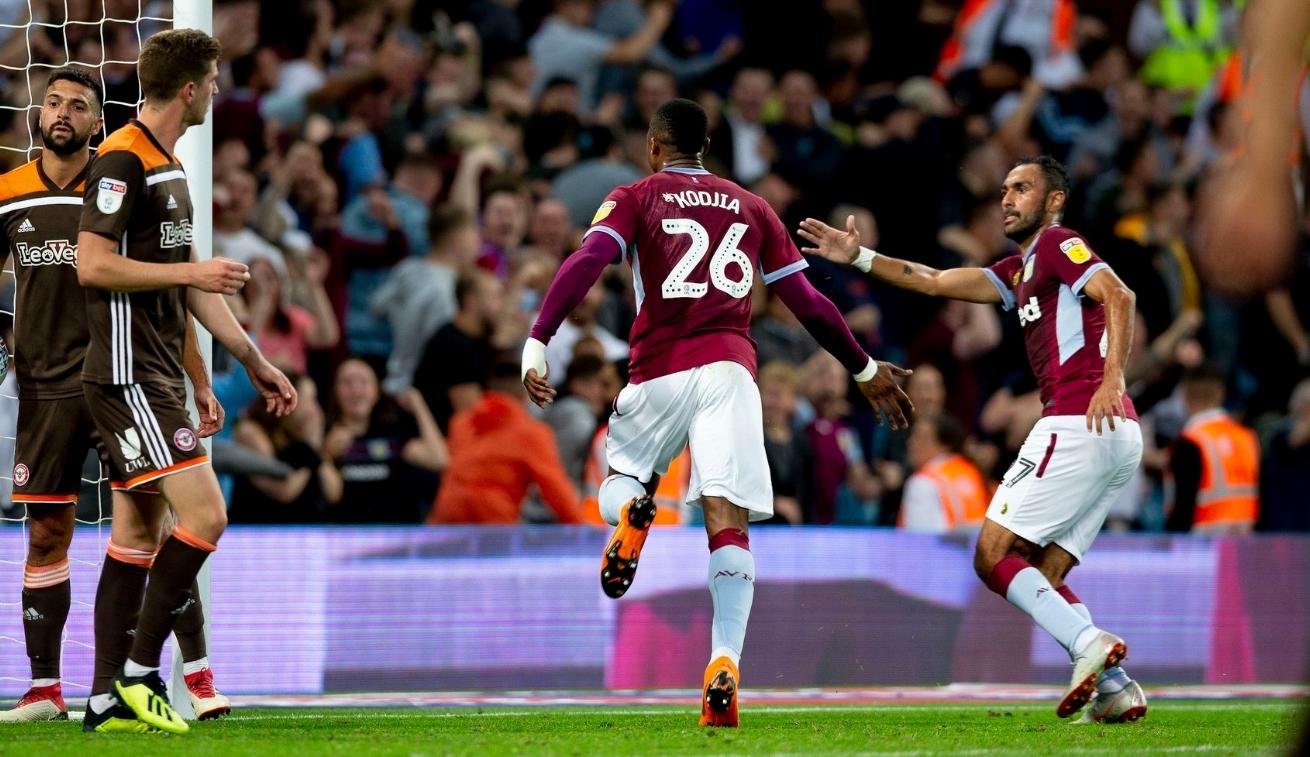 Aston Villa Jonathan Kodjia