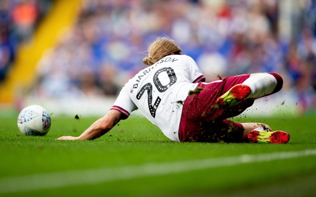 Birkir Bjarnason Aston Villa