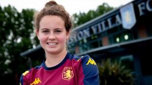 Aston Villa Women Sign England Youth International Emily Syme