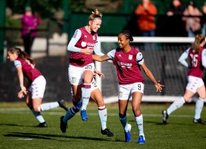 """English football is so pure"" – Nadine Hanssen on her Aston Villa career to date"