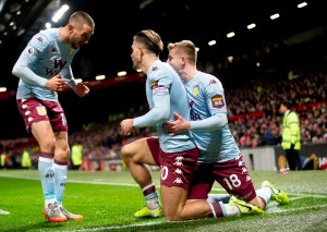 A mixture of sublime and scary as Aston Villa draw at Old Trafford