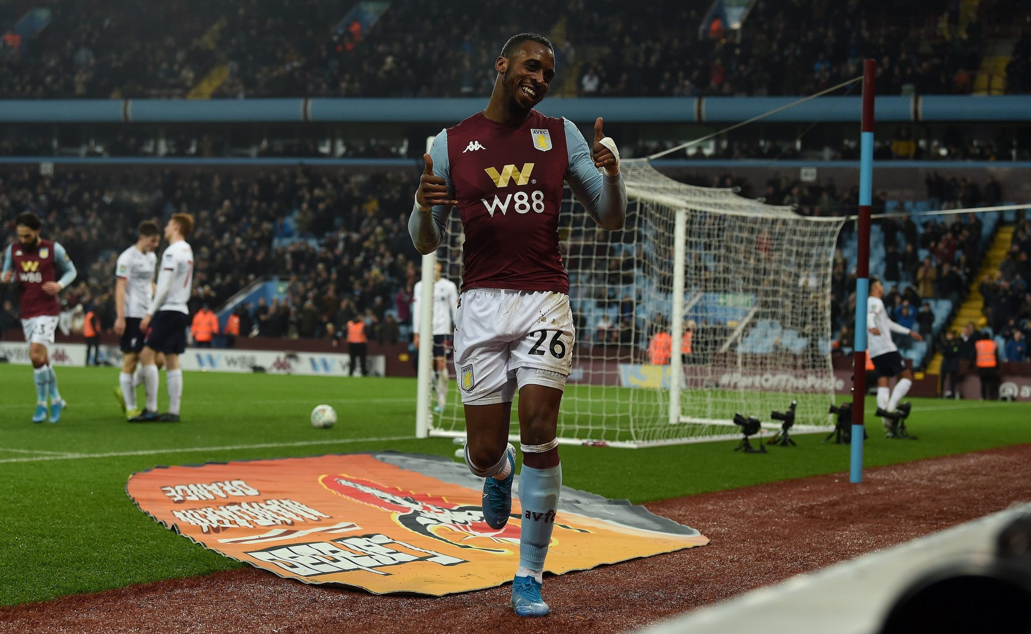 Aston Villa into last four of Carabao Cup after win