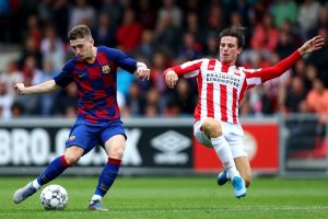 Aston Villa move for Barça 'wonderkid' Louie Barry is exceptional
